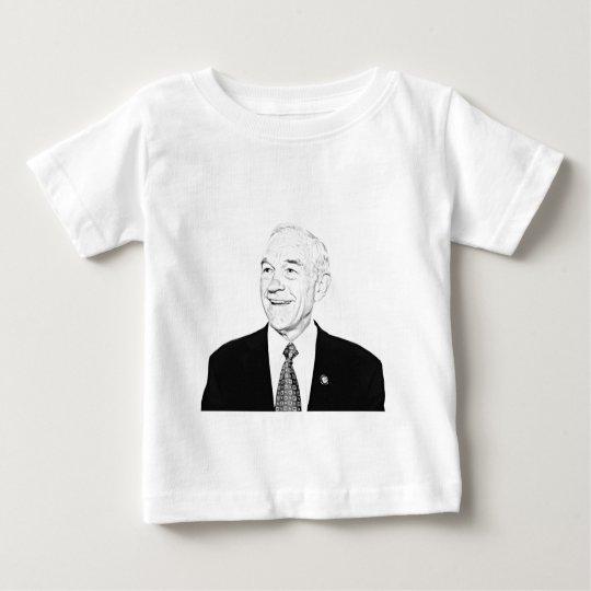 Ron Paul Sketch Design Baby T-Shirt