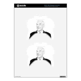 Ron Paul Sketch Design Xbox 360 Controller Skins