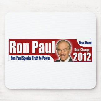 Ron Paul Speaks Truth to Power Mouse Pad