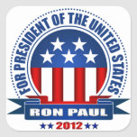 Ron Paul Square Stickers
