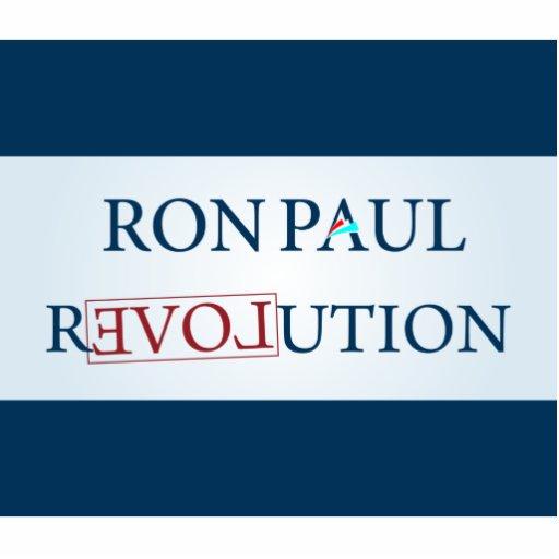 Ron Paul Standing Photo Sculpture