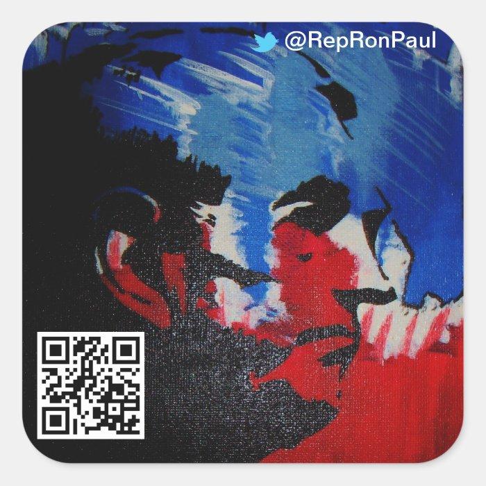 Ron Paul Sticker [Twitter]