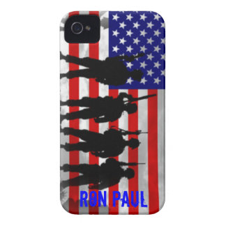 Ron Paul Support Our Troops iPhone 4 case