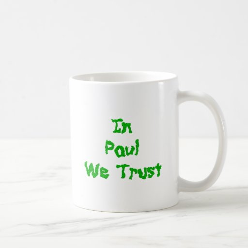 Ron Paul Taza De Café