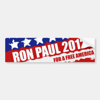 Ron Paul - the change we need Bumper Sticker