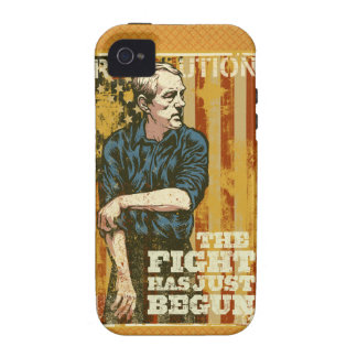 Ron Paul The Fight Has Just Begun iPhone Case Case-Mate iPhone 4 Cases