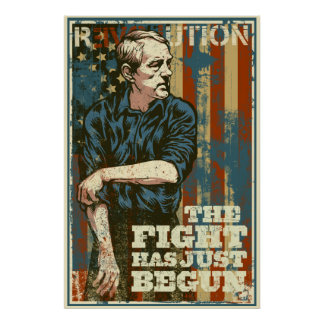 Ron Paul The Fight Has Just Begun Poster