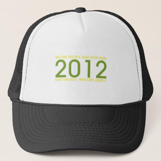 RON-PAUL TRUCKER HAT