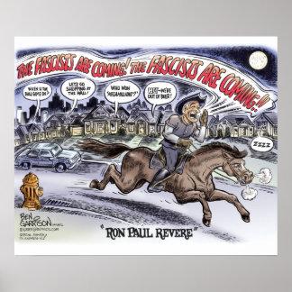 Ron Paul venera el poster