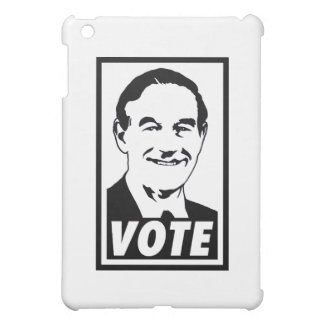 Ron Paul Vote 2012 Black Transparent Cover For The iPad Mini