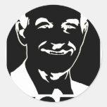 Ron Paul Vote 2012 Classic Round Sticker