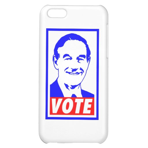 Ron Paul Vote 2012 Red White & Blue iPhone 5C Case