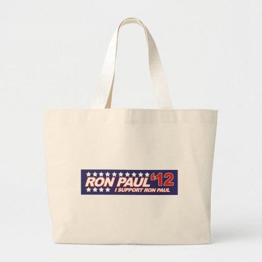 Ron Paul - voto 2012 del presidente de la elección Bolsa