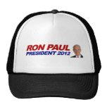 Ron Paul - voto 2012 del presidente de la elección Gorras De Camionero