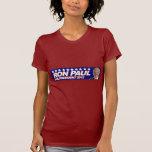 Ron Paul - voto 2012 del presidente de la elección Camisetas