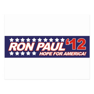 Ron Paul - voto 2012 del presidente de la elección Tarjetas Postales