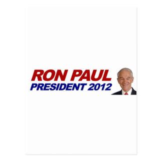 Ron Paul - voto 2012 del presidente de la elección Postal
