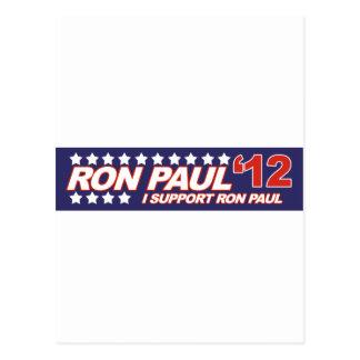 Ron Paul - voto 2012 del presidente de la elección Postales