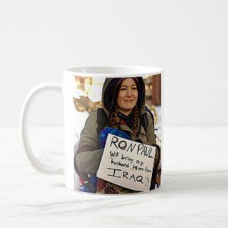 Ron Paul Woman Supporter Coffee Mug