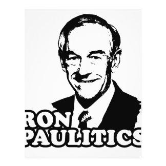 Ron Paulitics Flyer