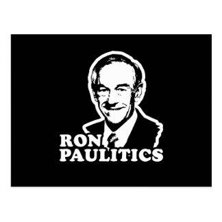 Ron Paulitics Postcard