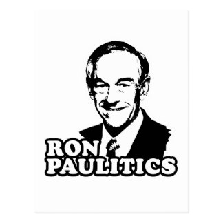 Ron Paulitics Post Card