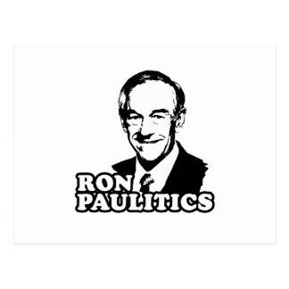 Ron Paulitics Tarjeta Postal