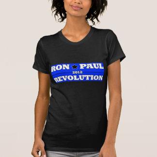 Ron Paull 2012 Revolution: Style Blue T-Shirt