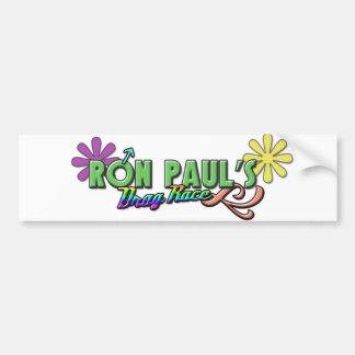 Ron Paul's Drag Race Bumper Sticker