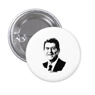 Ron Reagan Pin Redondo De 1 Pulgada