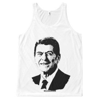 Ron Reagan - Politiclothes Humor --.png All-Over Print Tank Top