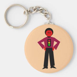 Ron Red Ron Buckstopper Key Chain