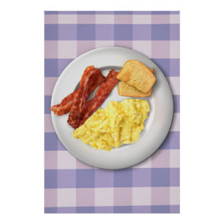 Ron Swanson's Breakfast Poster Of Greatness