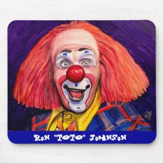 Ron Toto Johnson Mouse Pad