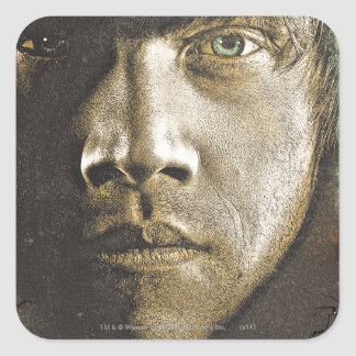 Ron Weasley 1 Square Sticker