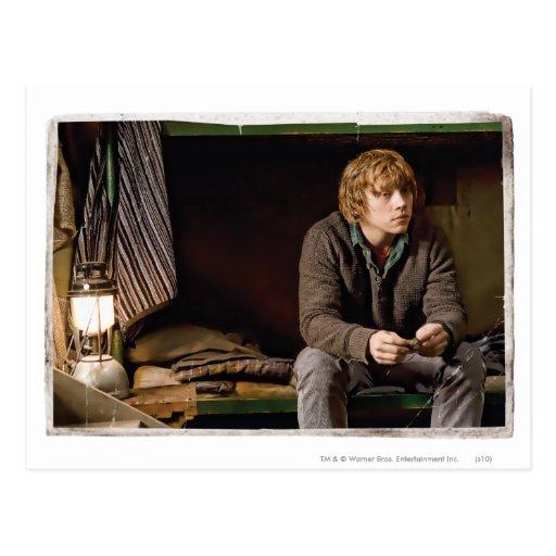 Ron Weasley 2 Tarjetas Postales