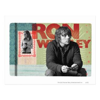 Ron Weasley 4 Postales