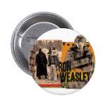 Ron Weasley 6 Pin Redondo 5 Cm