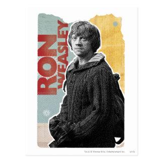 Ron Weasley 7 Tarjeta Postal
