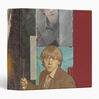 "Ron Weasley 8 Carpeta 1 1/2"""