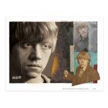 Ron Weasley 8 Tarjetas Postales