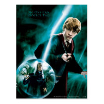 Ron Weasley and Lucius Malfoy Postcard