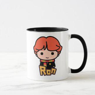 Ron Weasley Cartoon Character Art Mug
