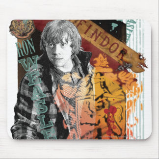 Ron Weasley Collage 1 Mouse Pad