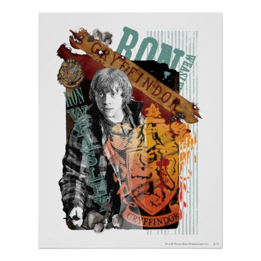 Ron Weasley Collage 1 Poster