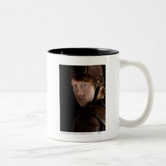 Ron Weasley Geared Up Two-Tone Coffee Mug