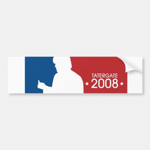 "Ron White ""TaterGate 2008""  sports logo sticker"