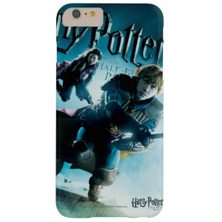 Ron y Ginny en las escobas 1 Funda De iPhone 6 Plus Barely There