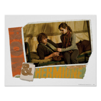 Ron y Hermione 1 Póster