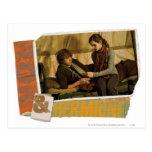 Ron y Hermione 1 Tarjeta Postal
